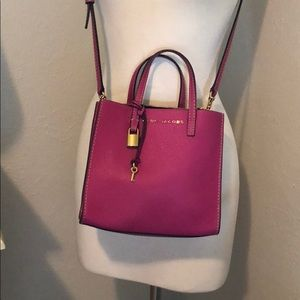 Marc Jacobs Grind Mini Tote in Pink